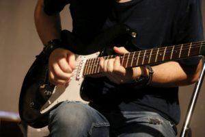 mains de guitariste