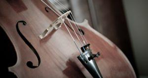 détail violoncelle